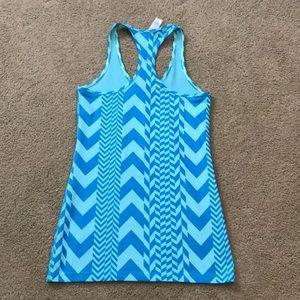 Ivivva Shirts & Tops - Ivivva Lululemon blue chevron tank top